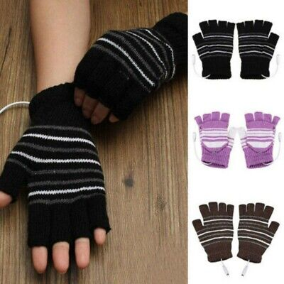 Outdoor USB Heated Gloves Winter Thermal Hand Warmer Electric Heating Gloves