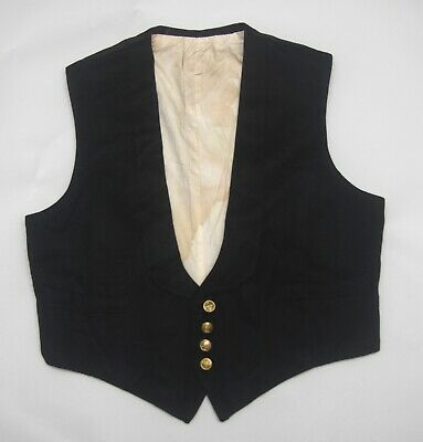 Vintage Men's Formal Waistcoat Early to mid  20th Century