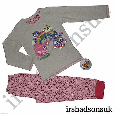 New Girls Moshi Monsters Pyjamas Size 5-10Years *Fast Ship 1St Class Standard