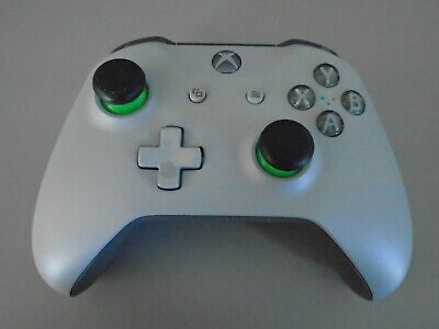 Official Microsoft Grey Green Xbox One 1 Controller 3.5mm jack gray control pad