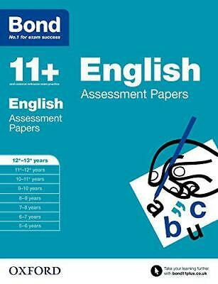 Bond 11+: English: Assessment Papers: 12+-13+ years by Wren, Wendy, NEW Book, FR