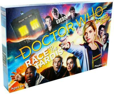 BBC Doctor Dr Who Childrens Kids Family Board Game - Race To The TARDIS