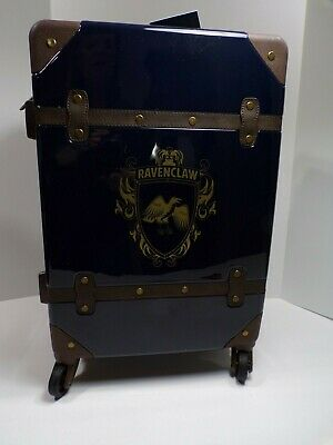 Pottery Barn Harry Potter Hard Sided Ravenclaw Carry-on Spinner Suitcase #4625