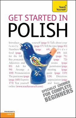 Get Started in Polish with Two Audio CDs: A Teach Yourself Guide Michalak-