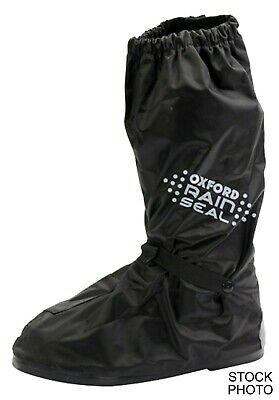 New Oxford Products Rain Seal Waterproof Over Boots Black Small