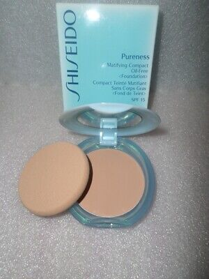 Shiseido Pureness Matifying Compact Oil-Free Foundation Spf15 40 Natural Beige