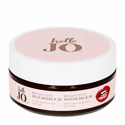 RRP £20 Hello Jo Bright Eyes Jelly Masks x30 Pairs for puffiness & Dark Circles