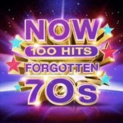 Various Artists - Now 100 Hits Forgotten 70S (5 Cd) Used - Very Good Cd