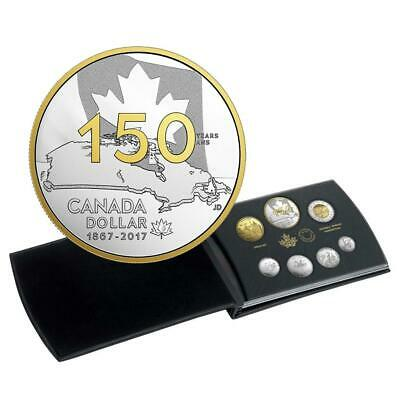 2017 .9999 Silver Proof Coin Set Canada 150 Our Home Native Land Special Edition