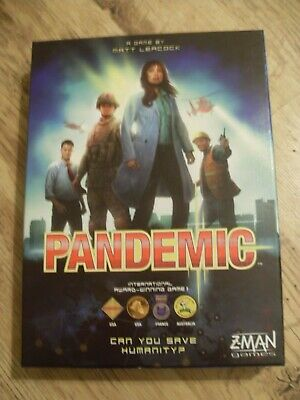 Pandemic............z-Man Board Games................excellent Unused Condition
