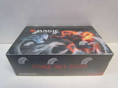 2020 Core Set Magic the Gathering MTG Booster Packs Sealed Box