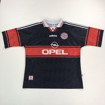 Adidas Bayern Munich 1997-98 Home Football Shirt Size XL