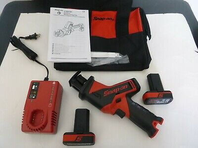New Snap-On 14.4V MicroLithium Cordless Reciprocating Saw Kit, CTRS761