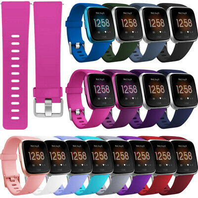 Silicone Sport Band Bracelet Strap Replacement For Fitbit Versa 2 Small/Larger