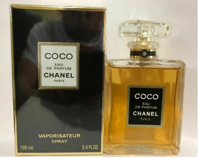 Coco Chanel 3.4 oz / 100 ml Women's Eau de Parfum Perfume Spray New & Sealed