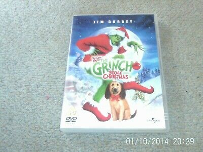 Dr. Seuss' How The Grinch Stole Christmas - Jim Carrey DVD
