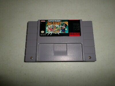 AUTHENTIC! Super Mario All Stars  - CART ONLY - SUPER NINTENDO SNES 127