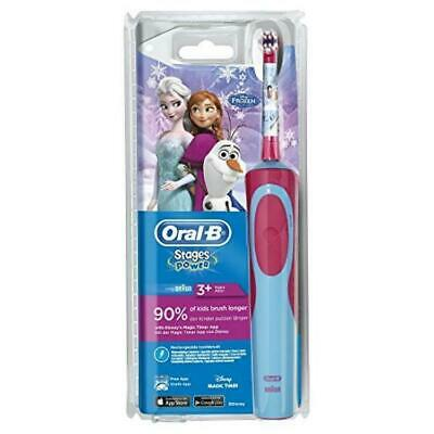 Oral-B Stages Power Disney Frozen Electric Toothbrush - Pink/Blue
