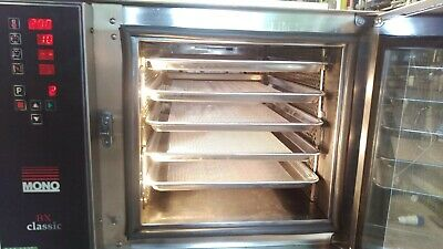 Mono BX153 Classic SINGLE PHASE 5 Tray Bake off Convection Oven 7.4k 6m Warranty