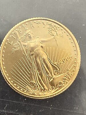 2006 1/10th Ounce Gold $5 American Eagle Gold Bullion Coin