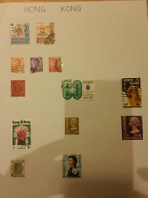 Hong Kong Stamps-unchecked collection