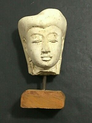 Ancient Egypt Egyptian Limestone Stone Queen Head Bust Nefertiti? Cleopatra?