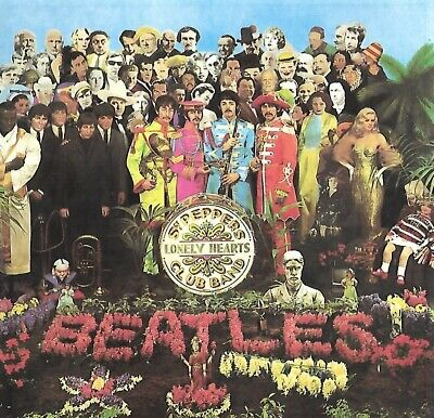 The Beatles - Sgt. Pepper's Lonely Hearts Club Band (1987)