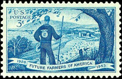 USA 1953 (2 for $1 Auction) - Future Farmers of America 1928-1953 -- Sc. #1024