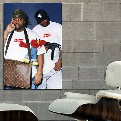 #12 Hypebeast Wu Tang Poster Supreme Canvas Frame Ready to Hang