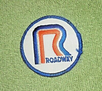 "Roadway Embroided Patch- Round 2 1/2"" Across"