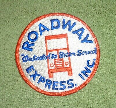 Roadway Express Inc Embroided Patch- Dedicated to Better Service