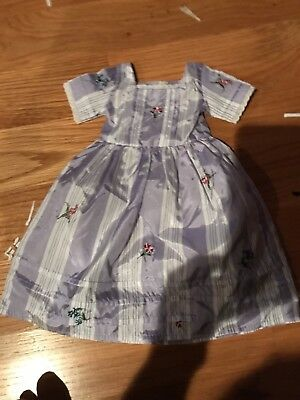 American Girl Doll Felicity Meet Dress new