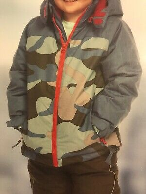 New Childrens Winter Jacket, Waterpoof, Windproof, Breathable, Boys Small, Camo