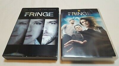 Fringe - The Complete First Season (DVD, 2009, 7-Disc Set) CLEAN!