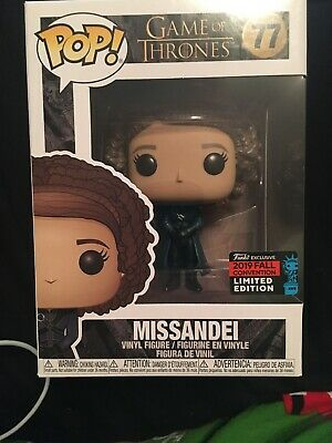 Funko Pop Missandei Game of Thrones #77 2019 NYCC Exclusive Official Sticker