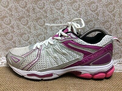 Karrimor  Womens Running Silver Pink Shoes Girls Trainers Size UK 5 EU 38