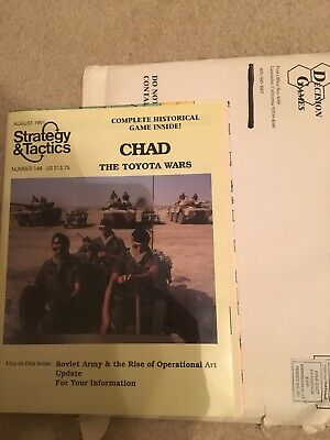 Strategy /& Tactics 144 Unpunched Chad SPI The Toyota Wars