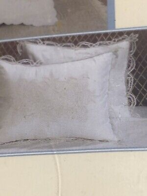 Battenburg Keevo Standard Handmade Collection Cotton Sham New In Pk White