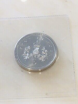 Very Rare 1993 5p Coin In Brilliant Uncirculated Condition Still Sealed