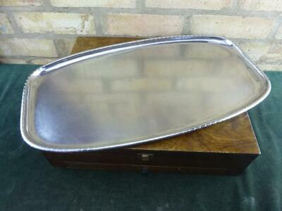 "Vintage Keswick school of industrial art hand finished 20"" Serving Tray"