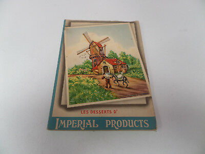 Les désserts d'Imperial products