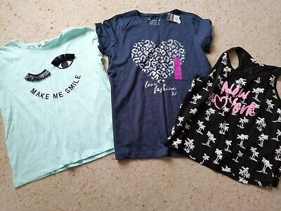 Girls 2 h and m and a primark  top bnwt age 12 - 14