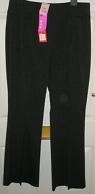 "Marks & Spencer Older Girls Grey School Bootleg Trousers W 28"" Leg 32"" £17 Bnwt"