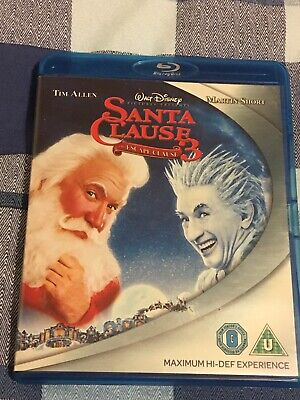 The Santa Clause 3 - The Escape Clause Blu Ray - Xmas Film Stars Tim Allen LOOK