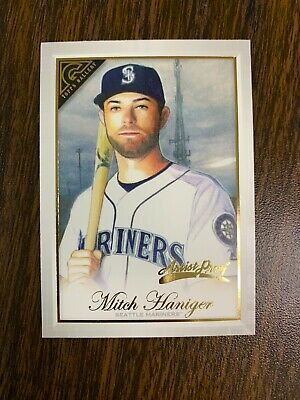 Mitch Haniger - 2019 Topps Gallery Artist Proof Parallel Sp Card #149 Mariners