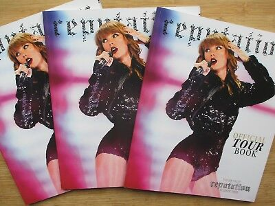 SOLD OUT MINT Taylor Swift Official Reputation Stadium Tour Photo Book Program