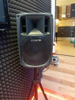 Montarbo Casse Amplificate Attive Audio Monitor Dj Live 400W