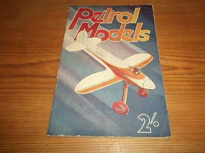 Booklet. Petrol Models. Warring. Model Aeroplanes. 1st. 1945. Model Publications