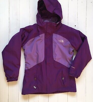 Girls The North Face Ski Jacket | Purple | Size Large Age 14 - 16 | With Fleece
