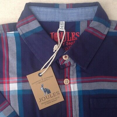 *NEW AUTUMN//WINTER 2018* Joules Boys Hamish Brushed Checked Shirt